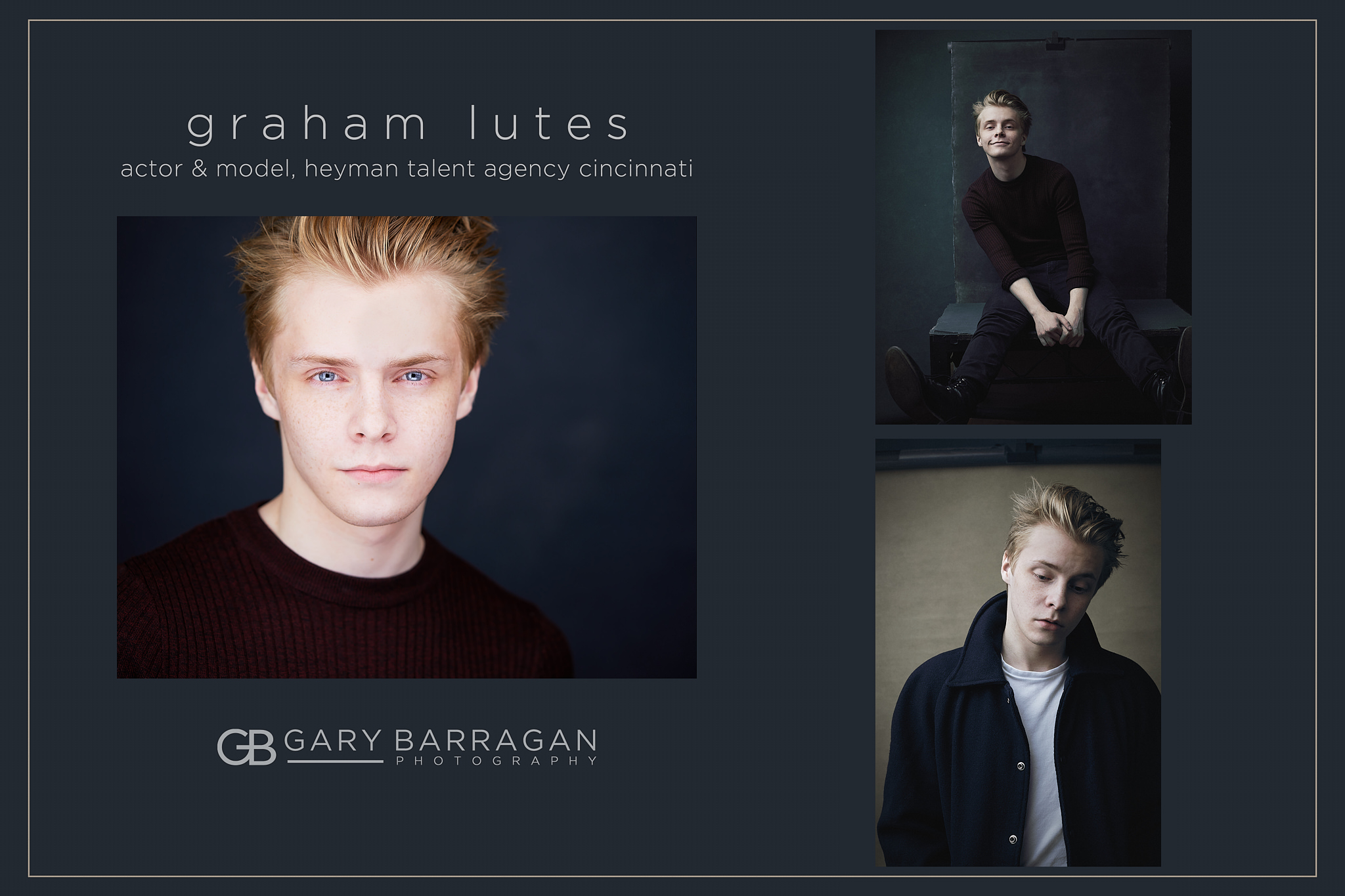 Graham Lutes for Heyman Talent Agency