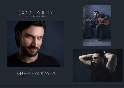 Actor John Wells