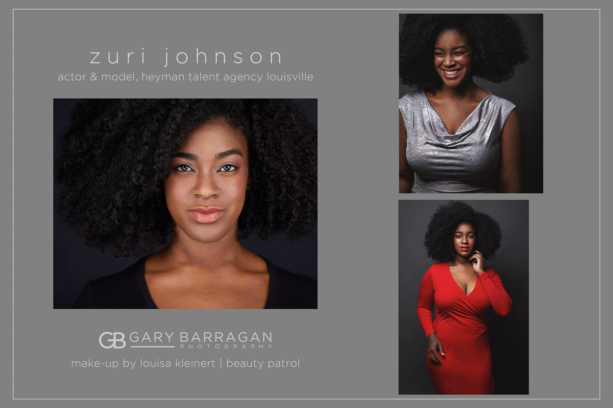 African American Actor and Model Headshots