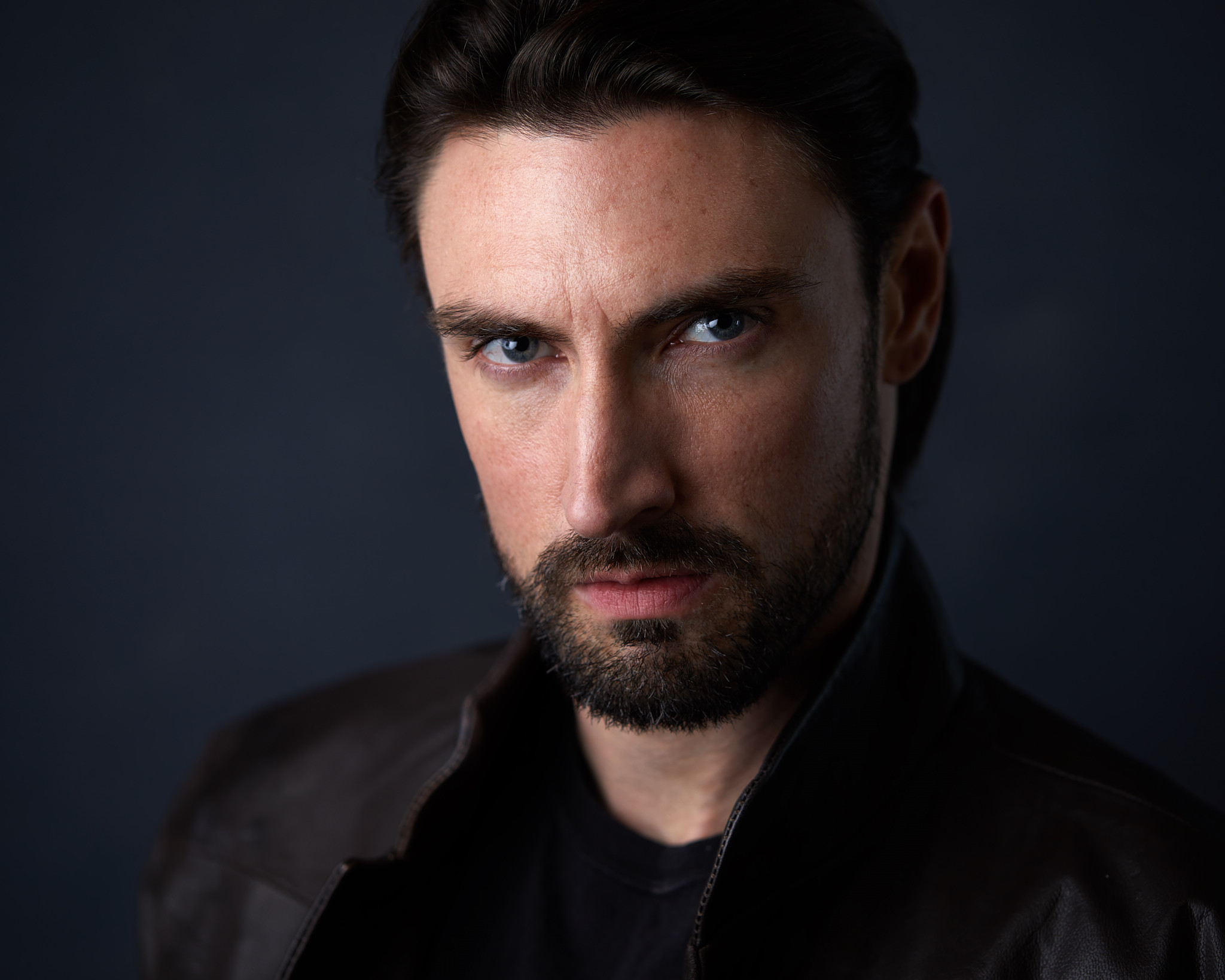 Theatrical Headshot of Actor John Wells by Gary Barragan Photography