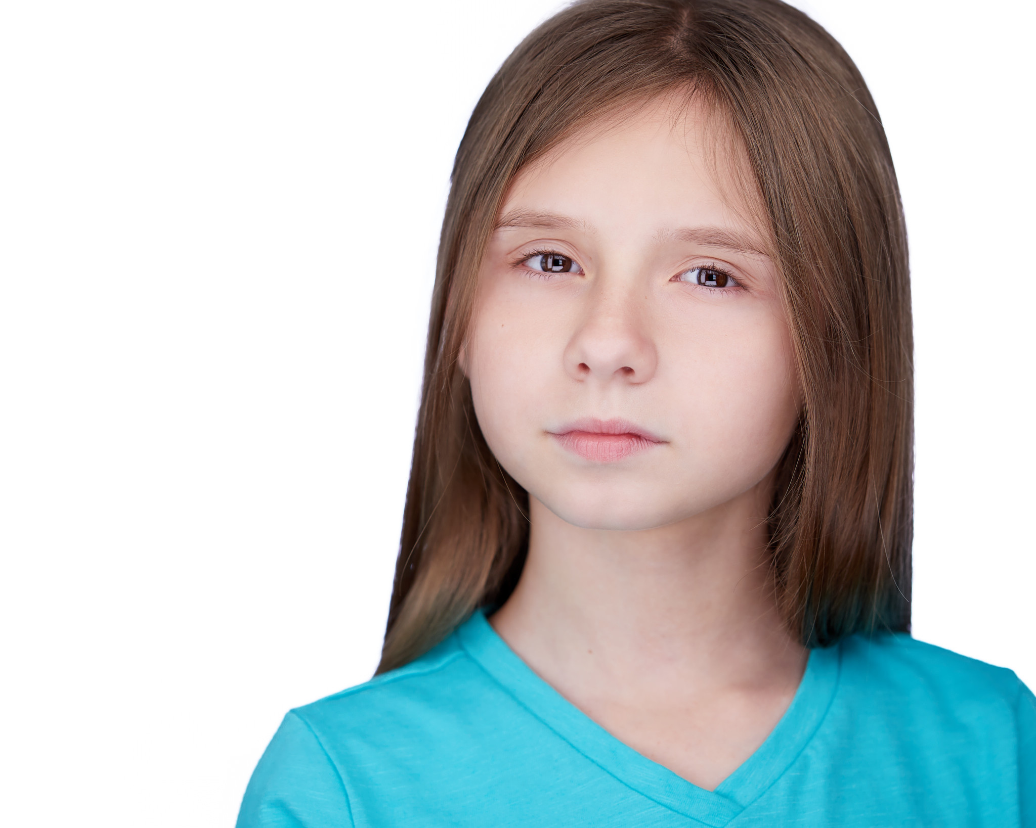 Child Headshots White Background Peter Hurley Style
